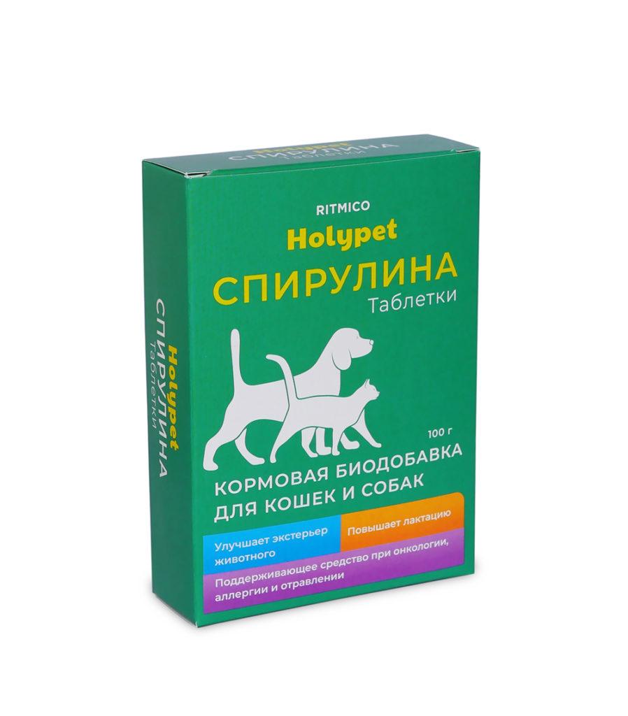 Спирулина таблетки для животных